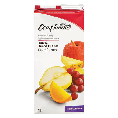 COMPLIMENTS JUS PUNCH AUX FRUITS 1 L