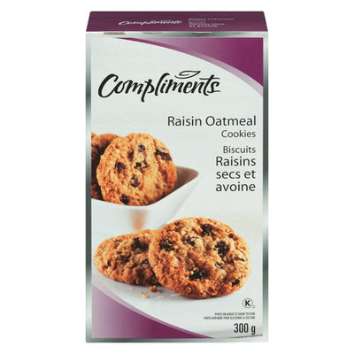 COMPLIMENTS BISCUITS AVOINE RAISINS  300 G