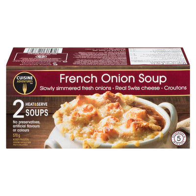 CUISINE ADVENTURES SOUP FRENCH ONION 2S 570 G