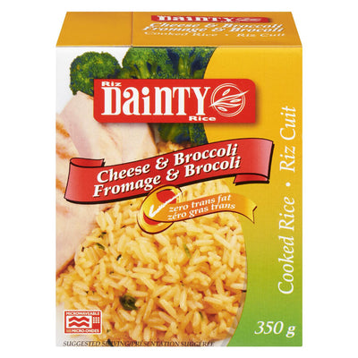 DAINTY BROCCOLI AND CHEESE INSTANT RICE 350 G