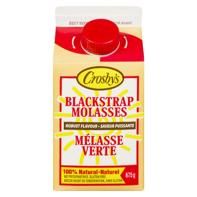 CROSBY'S BLACKSTRAP MOLASSES ROBUST FLAVOUR 675 G