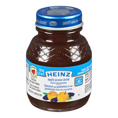 HEINZ DRINK APPLE PRUNE 128 ML