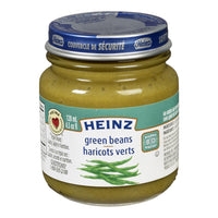 HEINZ BABY FOOD GREEN BEANS 128 ML