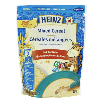 HEINZ BABY CEREAL MIXED STAGE 2 227 G