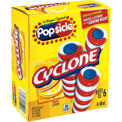 GOOD-HUMOR POPSICLE CYCLONE  6X80 ML