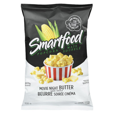 SMARTFOOD POPCORN MOVIE NIGHT BUTTER 150 G