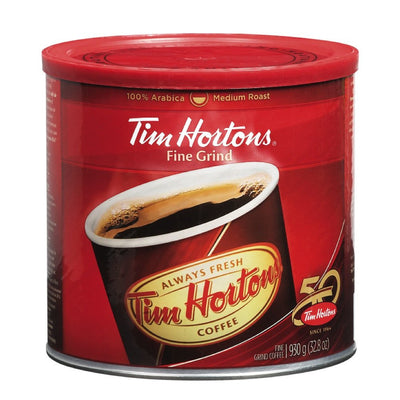 TIM HORTONS CAFÉ MOUTURE FINE GRAND  930 G