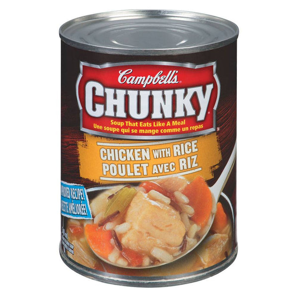 CAMBELL CHUNKY SOUPE POULET RIZ 540 ML