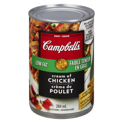 CAMPBELLS SOUP LOW FAT CREAM CHICKEN 284 ML