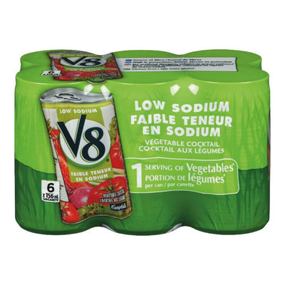 V-8 COCKTAIL LÉGUMES FAIBLE SODIUM 156 ML