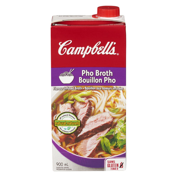 CAMPBELLS BOUILLON PHO SAVEURS INFUSEES 900 ML