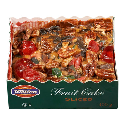 WESTON CAKE FRUIT SLICED 400 G