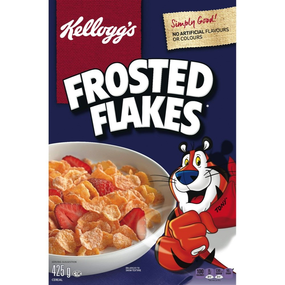 Kelloggs Frosted Flakes Cereal 425 G March Nuvo Corn Deal
