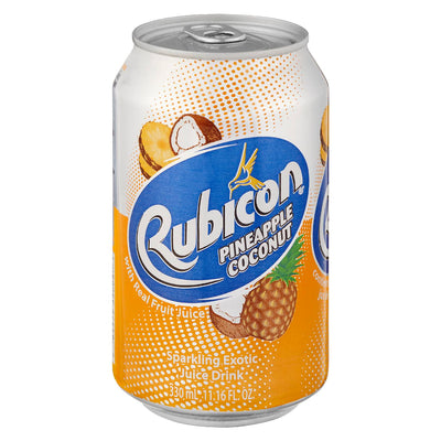 RUBICON PINEAPPLE AND COCONUT FRUIT DRINK 330ML