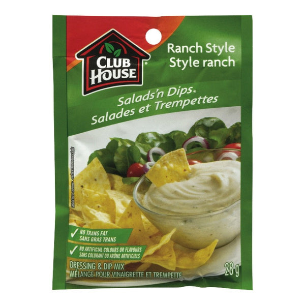 CLUB HOUSE SALADE TREMPETTE RANCH  28 G