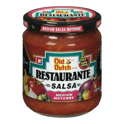 OLD DUTCH SALSA MOYENNE 430 ML