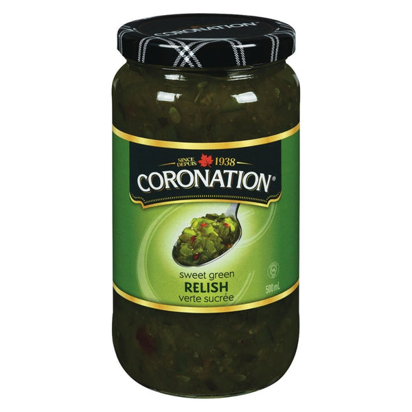 CORONATION RELISH SUCRÉE 500 ML
