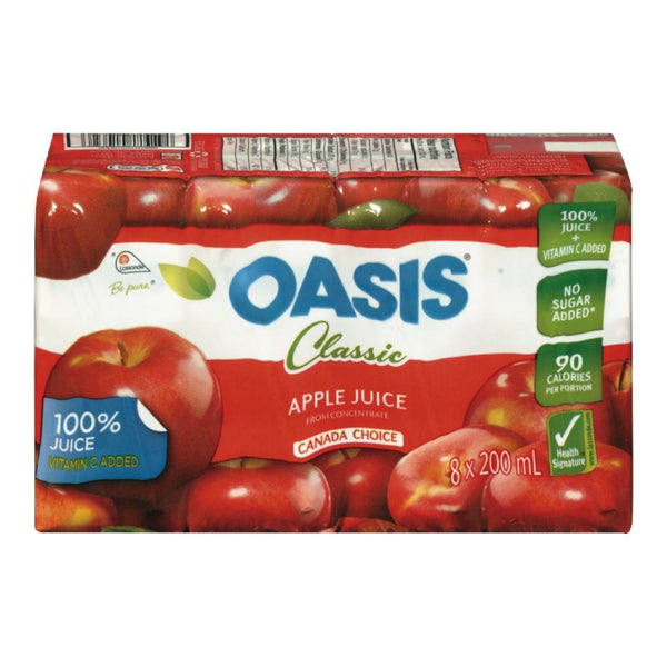 OASIS JUS POMME 8X200 ML