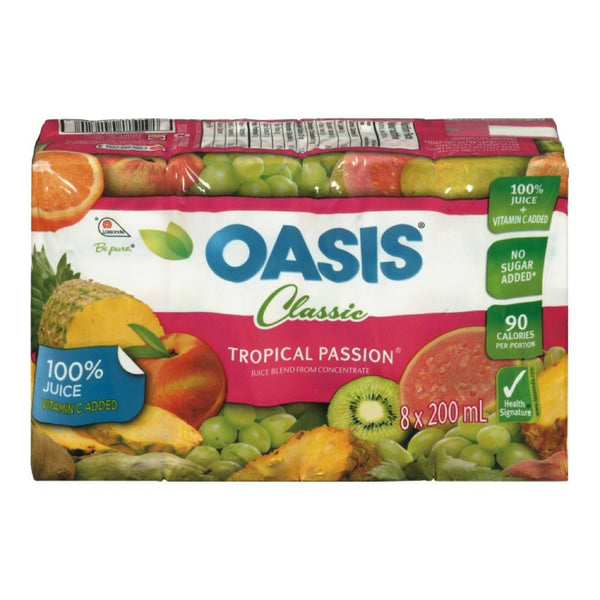 OASIS JUS TROPICAL 8x200 ML
