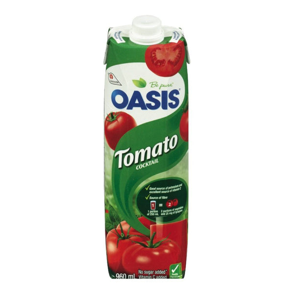 OASIS JUS COCKTAIL TOMATE 960 ML