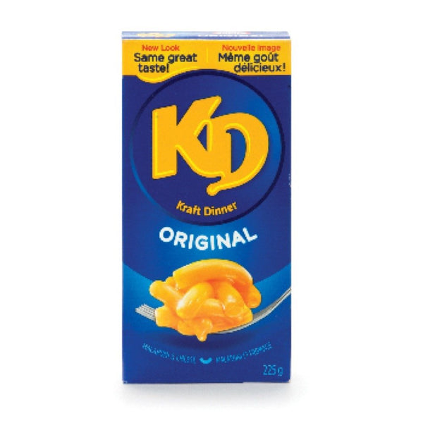 KRAFT DINNER MACARONI AU FROMAGE ORIGINAL 225 G