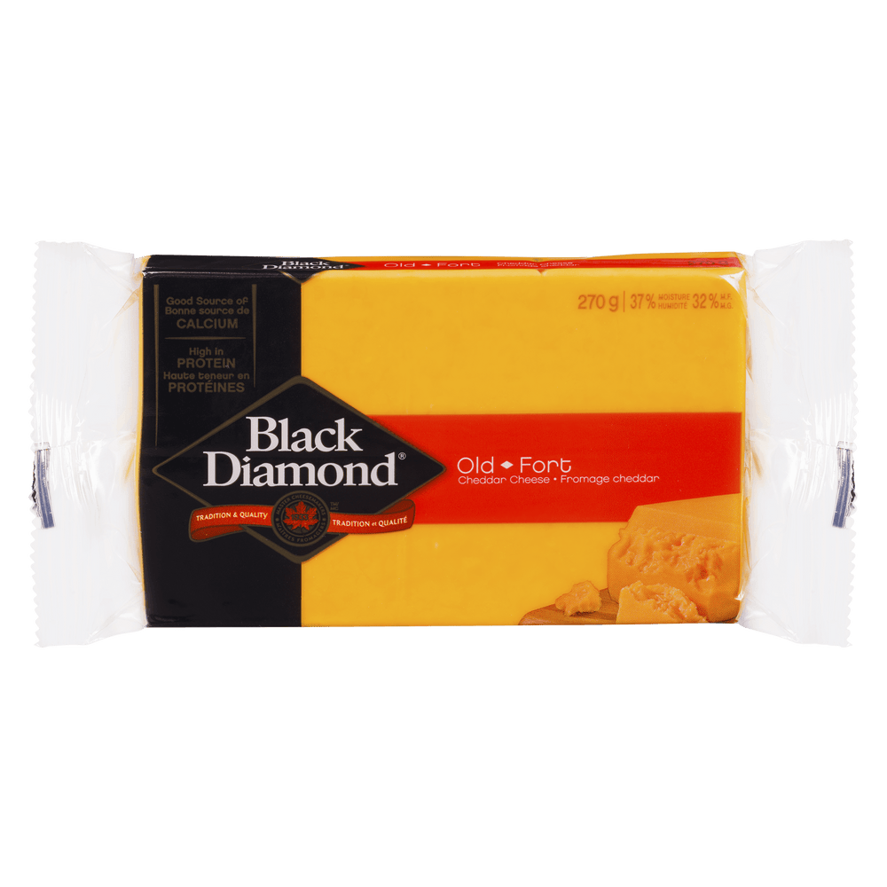BLACK DIAMOND DIAMOND CHEDDAR FORT 270 G