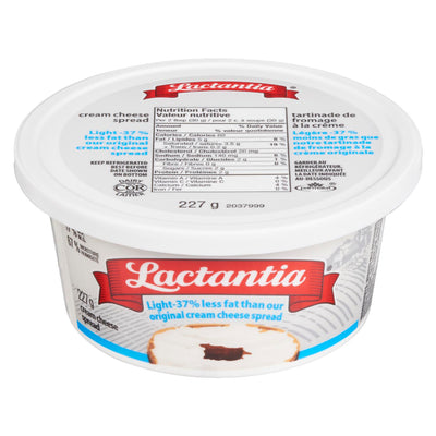 LACTANTIA SPREAD CREAM CHEESE LIGHT 227 G