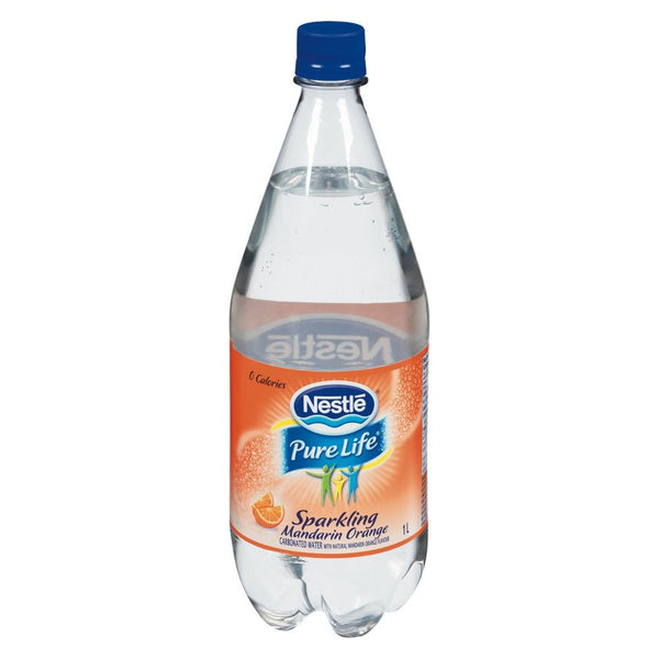 NESTLE PURELIFE EAU PÉTILLANTE ORANGE 1 L