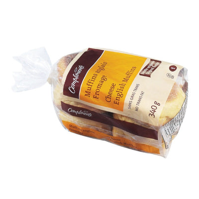 COMPLIMENTS MUFFIN ANGLAIS FROMAGE  340 G