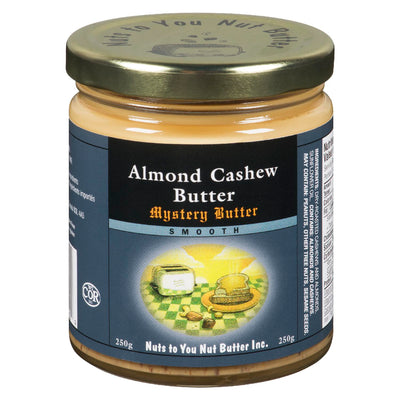 NUTS TO YOU NUT BUTTER ALMOND CASHEW BUTTER SMOOTH 250 G