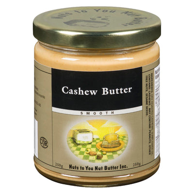NUTS TO YOU NUT BUTTER CASHEW BUTTER SMOOTH 250 G