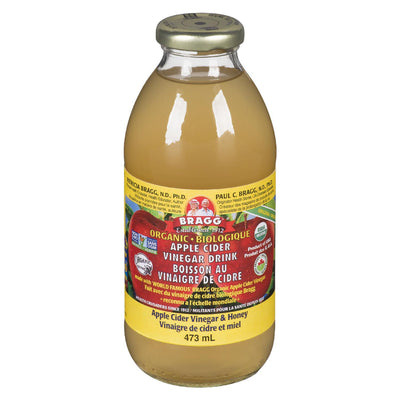 BRAGG ORGANIC APPLE CIDER VINEGAR & HONEY DRINK 473G