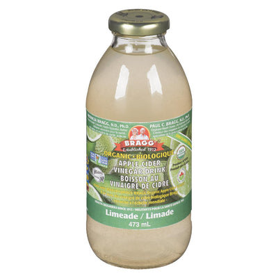 BRAGG ORGANIC APPLE CIDER VINEGAR LIMEADE DRINK 473G