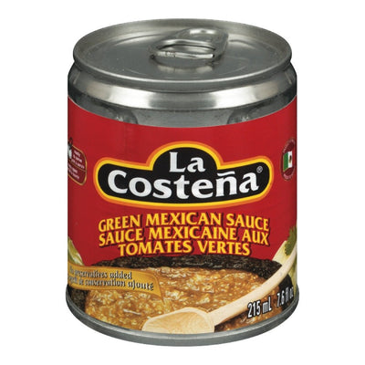 LA COSTENA SALSA MEXICAIN VERTE 215 ML