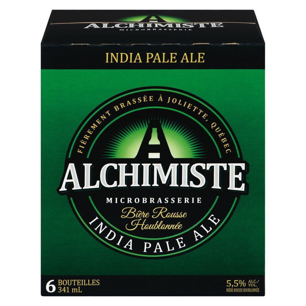 ALCHIMISTE BEER RED INDIAN PALE ALE 5.5%ALC 6 x 341 ML