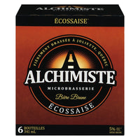 ALCHIMISTE BEER 5% BROWN ECOSSAISE 6 x 341 ML