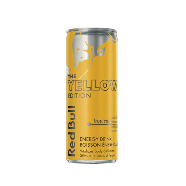 RED BULL BOISSON ÉNERGETIQUE YELLOW EDITION 250 ML