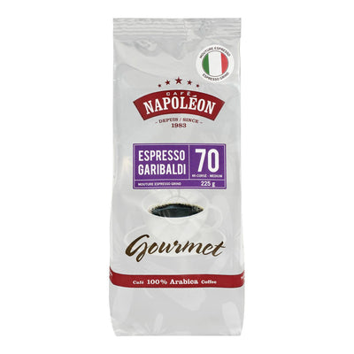 CAFE NAPOLEON COFFEE GRIND MEDIUM ESPRESSO GARIBALDI 340G