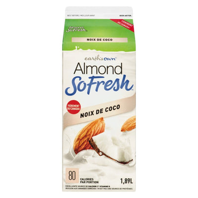 ALMOND FRESH COCONUT BEVERAGE 1.89 L