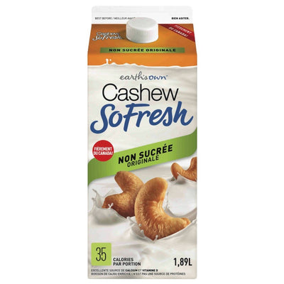 CASHEW FRESH BEVERAGE NO SUGAR ADDED 1.89 L