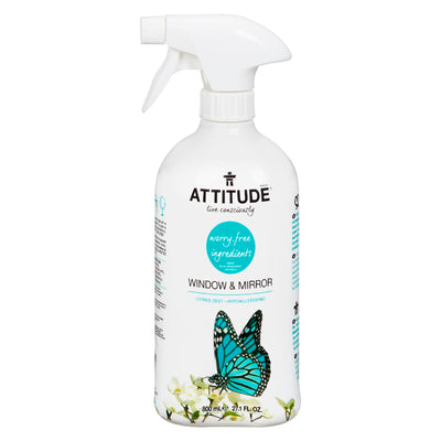 ATTITUDE WINDOW AND MIRROR CLEANER 800ML