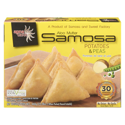 APNA TASTE SAMOSA PEAS AND POTATOES 550 G