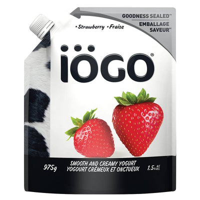 IOGO YOGURT 1.5% STRAWBERRY 975 G