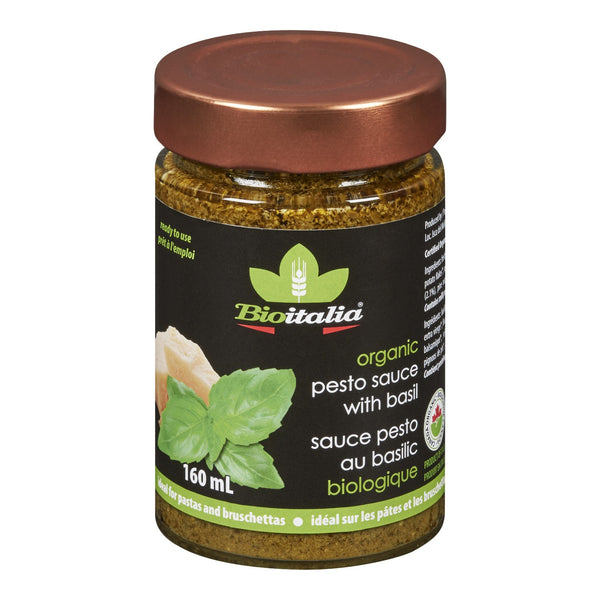 BIOITALIA PESTO AU BASILIC 160 ML