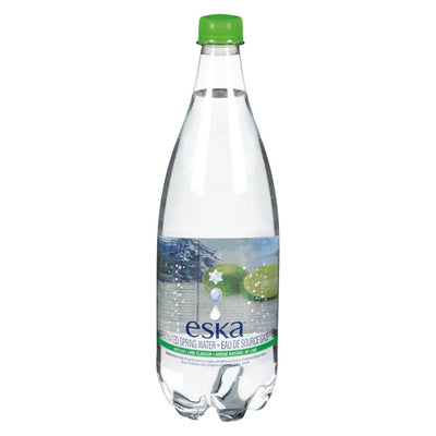 ESKA LIME CARBONATED BOTTLE SPRING WATER 1 L