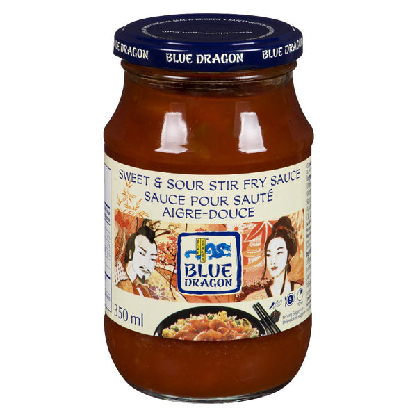 BLUE DRAGON SAUCE CUISSON AIGRE DOUCE 350 ML