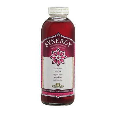 GT'S RAW ORGANIC CRANBERRY SYNERGY 480 ML