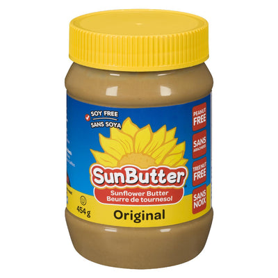 SUNBUTTER SUNFLOWER BUTTER ORIGINAL 454G