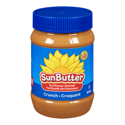 SUNBUTTER SPREAD SUNFLOWER CRUNCH 454 G