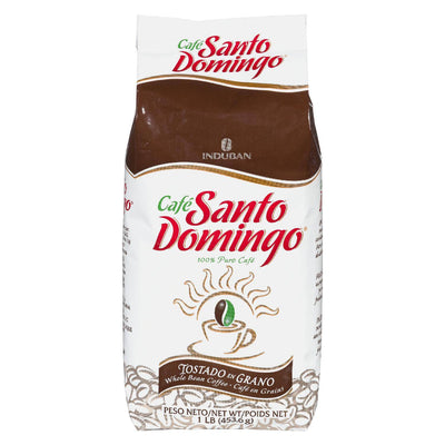 CAFE SANTO DOMINGO WHOLE BEAN COFFEE 454 G